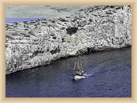 Islands Kornati - Cliffs