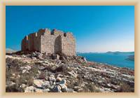 Islands Kornati - old citadel