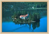 NP Krka - Small island with monastery