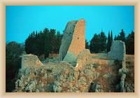 National Park Krka - ruins of tower