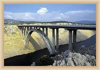 Bridge in Maslenica