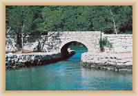 Island  Mljet - Old bridge