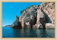 Island  Mljet - Rocky coast