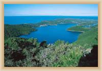 Island  Mljet - Small lake
