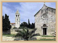 Island Vis - Franciscan monastery at Pirovo