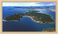 Island Prvič - Sight of island