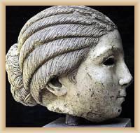 Solin - Head of statute Salome