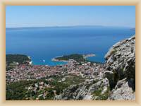 Sight of Makarska