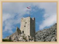 Omiš - Ruin of castle