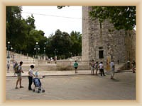 Zadar - Square Petra Zoranica