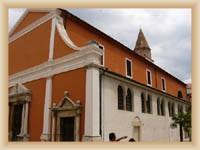 Zadar - St. Simeon church